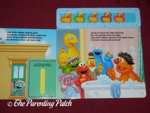 Inside Pages of 'Sesame Street: 5 Little Rubber Duckies' 2