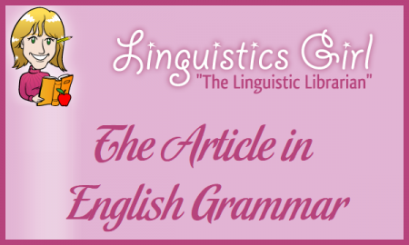 The Article in English Grammar