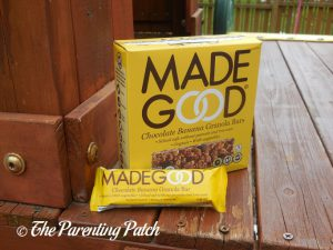MadeGood Chocolate Banana Granola Bars