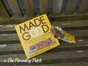 Chocolate Banana Granola Bars from MadeGood