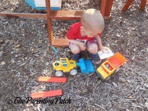 Will Playing with the PLAYMOBIL Dump Truck 2
