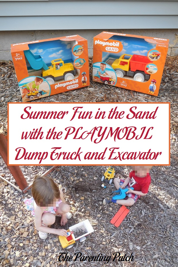 Summer Fun in the Sand with the PLAYMOBIL Dump Truck and Excavator