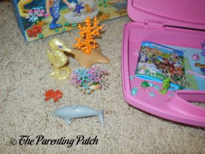 Assembled PLAYMOBIL Magical Mermaids Carry Case