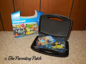 Opening the PLAYMOBIL Go-Kart Racer Carry Case