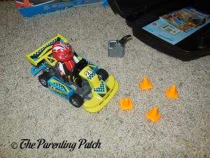 Assembled PLAYMOBIL Go-Kart Racer Carry Case