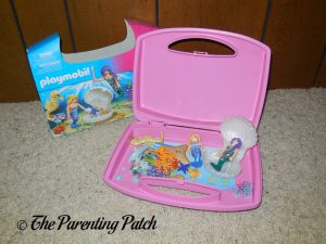 Unpacking the PLAYMOBIL Magical Mermaids Carry Case
