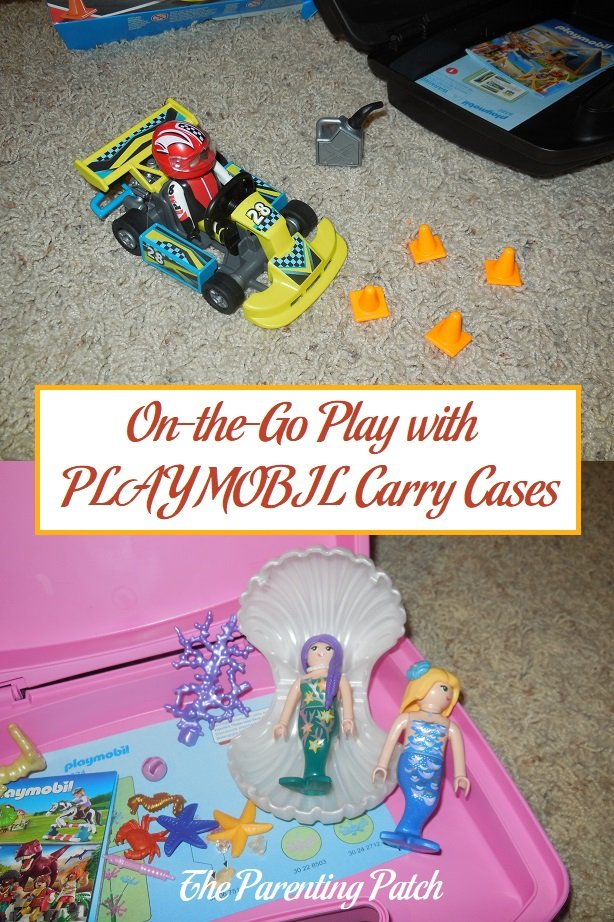 On-the-Go Play with PLAYMOBIL Carry Cases