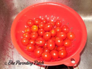 Tomatoes for Roasted Cherry Tomato Soup