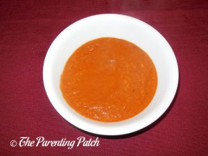 Bowl of Roasted Cherry Tomato Soup