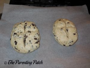 Unbaked Irish Soda Bread