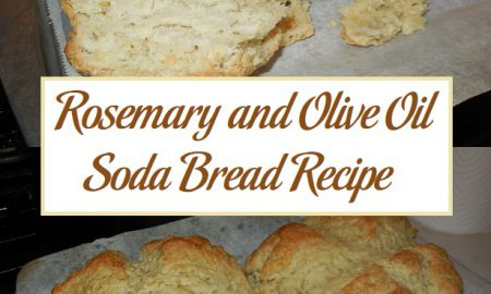 Rosemary and Olive Oil Soda Bread Recipe