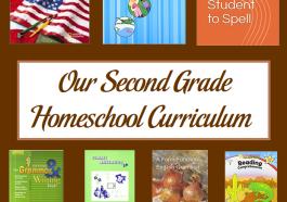Our Second Grade Homeschool Curriculum