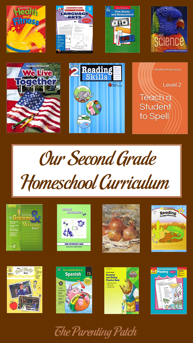 Our Second Grade Homeschool Curriculum