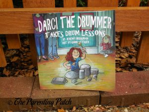 Cover of 'Darci the Drummer Takes Drum Lessons'