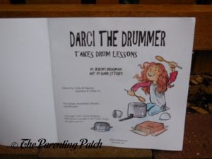 Inside Pages of 'Darci the Drummer Takes Drum Lessons' 1