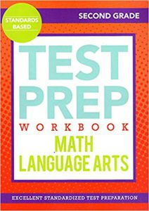 Test Prep Workbook: Math/Language Arts (Second Grade)