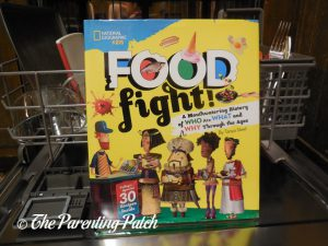 Cover of 'Food Fight!: A Mouthwatering History of Who Ate What and Why Through the Ages'