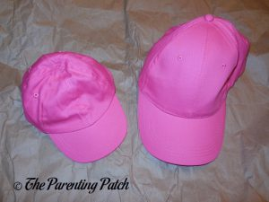 Pink Hats for Easy Flamingo Costume