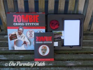 Zombie Cross-stitch Book and Kit