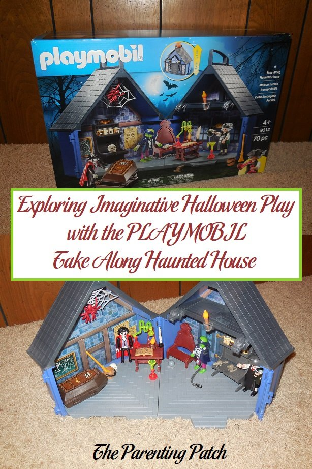 Exploring Imaginative Halloween Play with the PLAYMOBIL Take Along Haunted House
