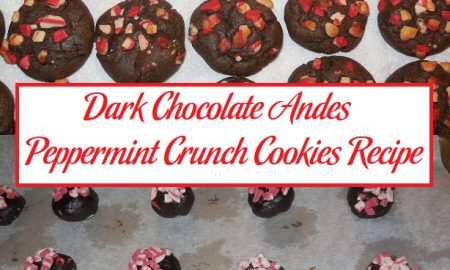 Dark Chocolate Andes Peppermint Crunch Cookies Recipe