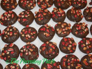 Dark Chocolate Andes Peppermint Crunch Cookies
