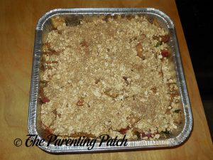 Putting the Topping on the Apple-Zucchini Crisp
