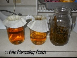 Filtering More Peppermint Extract