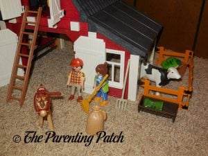 Assembled the PLAYMOBIL Barn with Silo 5