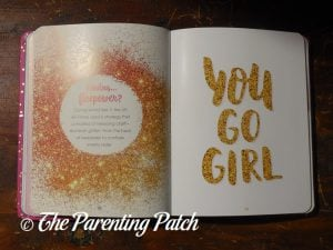 Inside Pages of 'Glitter!: A Celebration of Sparkle' 2