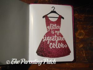 Inside Pages of 'Glitter!: A Celebration of Sparkle' 3