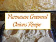 Parmesan Creamed Onions Recipe