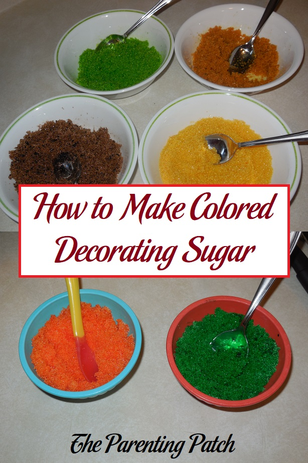 How to Make Colored Decorating Sugar