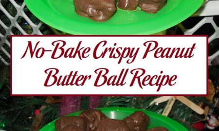 No-Bake Crispy Peanut Butter Ball Recipe