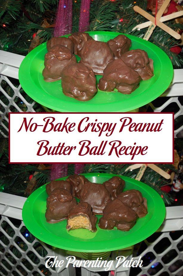 No-Bake Crispy Peanut Butter Ball Recipe