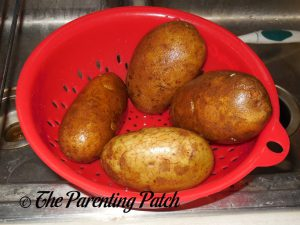 Potatoes for Gluten-Free Potato Pancakes