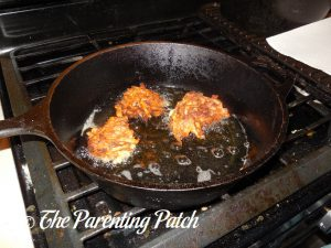 Flipping the Gluten-Free Potato Pancakes