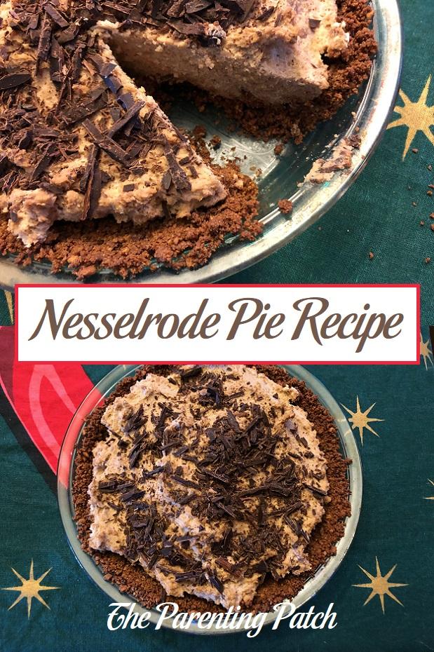 Nesselrode Pie Recipe