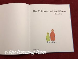 Inside Pages of 'The Children and the Whale' 1