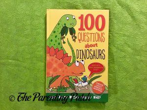 Cover of '100 Questions About Dinosaurs'
