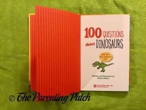 Inside Pages of '100 Questions About Dinosaurs' 1