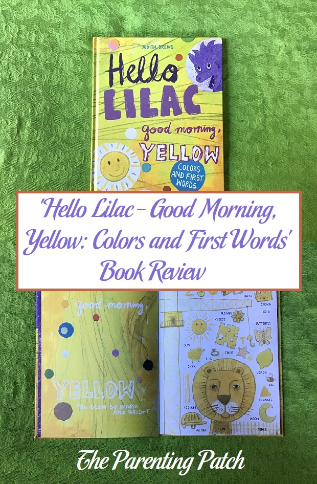'Hello Lilac - Good Morning, Yellow: Colors and First Words' Book Review