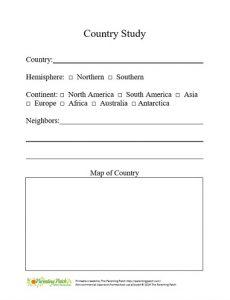 Country Study Preschool