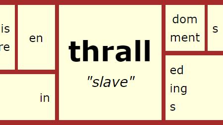 Word Matrix: Thrall
