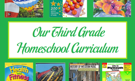 Our Third Grade Homeschool Curriculum