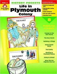 History Pockets: Life in Plymouth Colonies, Grades 1-3