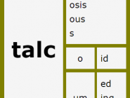 Word Matrix: Talc