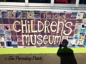 Iowa Children's Museum Sign