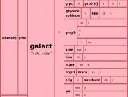 Word Matrix: Galact
