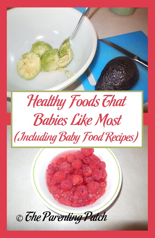 Healthy Foods That Babies Like Most Infographic with Baby Food Recipes